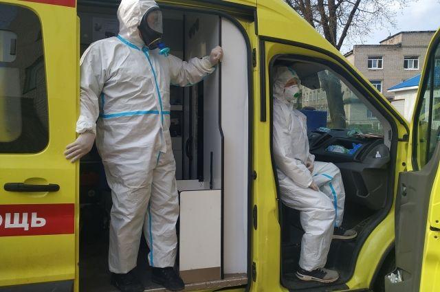 В Калининградской области увеличивается ежесуточная заболеваемость COVID-19