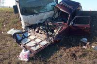 В Сорочинском районе столкнулись ISUZU и «ВАЗ-210540».
