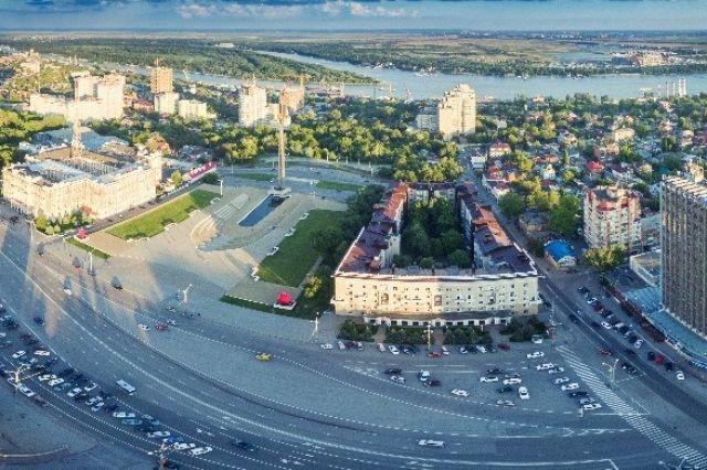Театральная площадь в Ростове