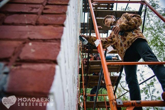 В Смоленске открыли первую школу граффити.