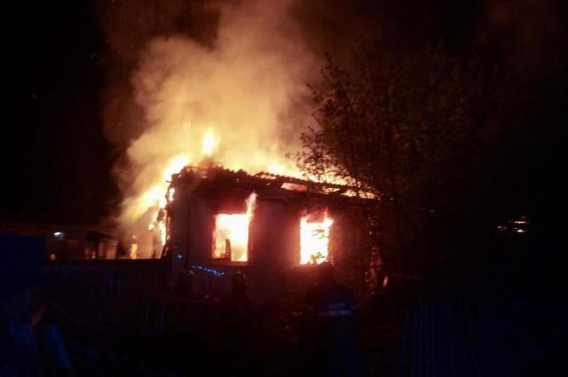 Пенсионер из Башкирии погиб в пожаре в Гафурийском районе Башкирии