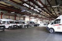 До конца года в край поступит 70 автомобилей скорой помощи.