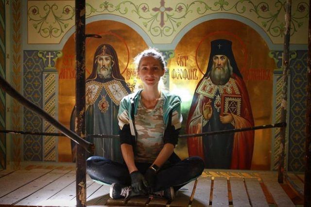 Многие храмы на Ставрополье расписаны Татьяной.