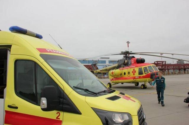 После проведения всех предполетных мероприятий борт с медицинскими бригадами поднялся в воздух.