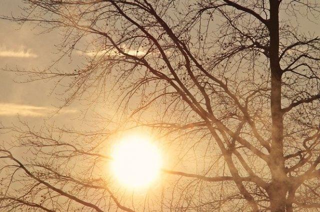 Теплая погода продержится недолгое время
