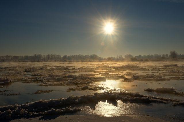 Он создан для информирования о прохождении ледохода