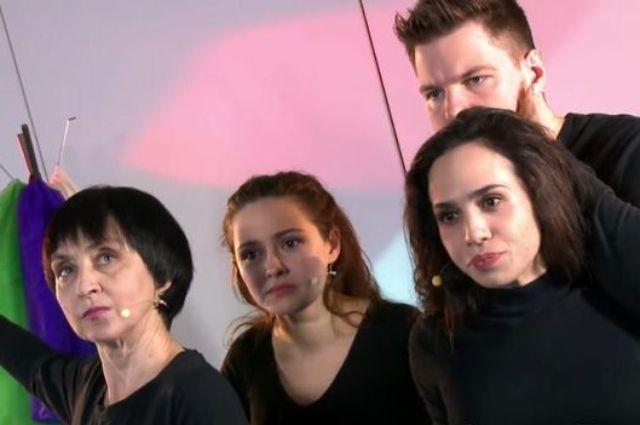 Актеры театра Playback.