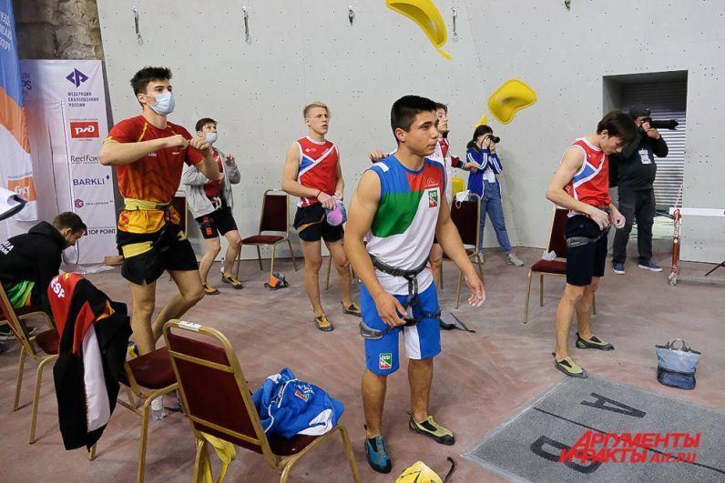 Первенство Европы по скалолазанию в Перми.