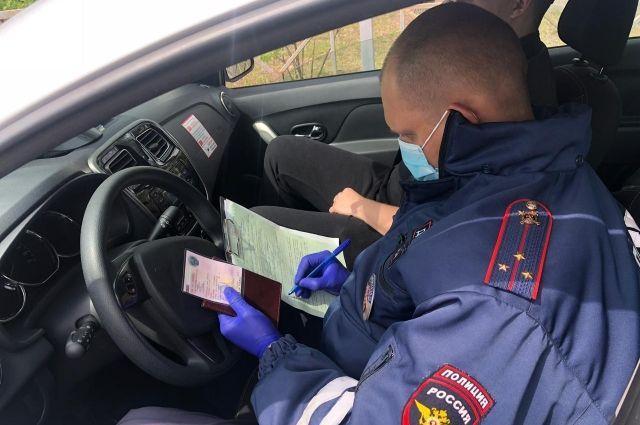 50 протоколов составили в отношении водителей во время рейда в Иркутске