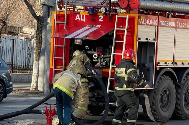 Предположительно причиной возгорания стал поджог.