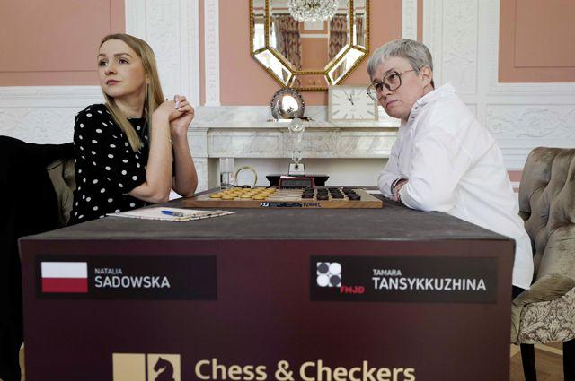 Флаг в руки! Тамара Тансыккужина  чемпионка мира по международным шашкам