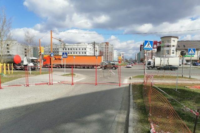 На перекрестке Лазурная – Власихинская в Барнауле изменили схему движения