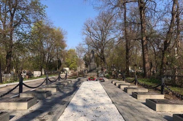 Братская могила в Ростове-на-Дону