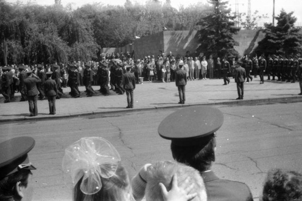 Северная и Октябрьская, 1989 год.