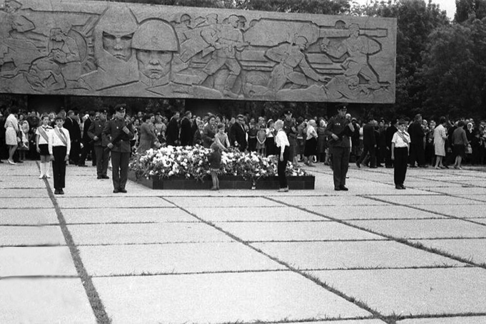 Вечный огонь, 1970 год.