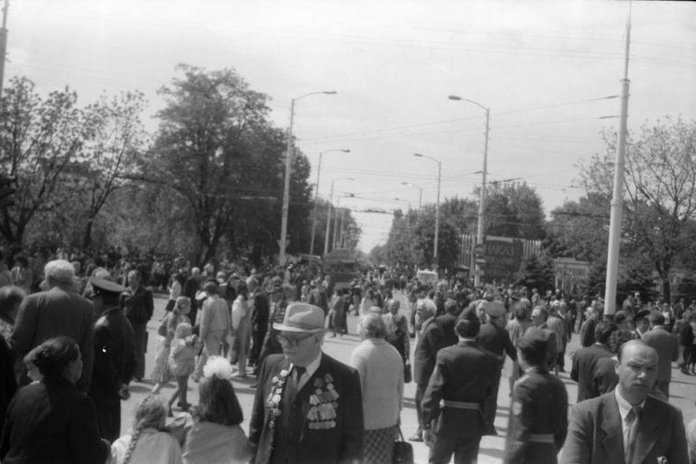 Площадь памяти героев, 1989 год.