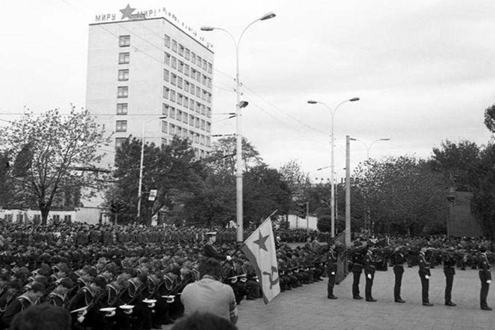 Вечный огонь, 1985 год.