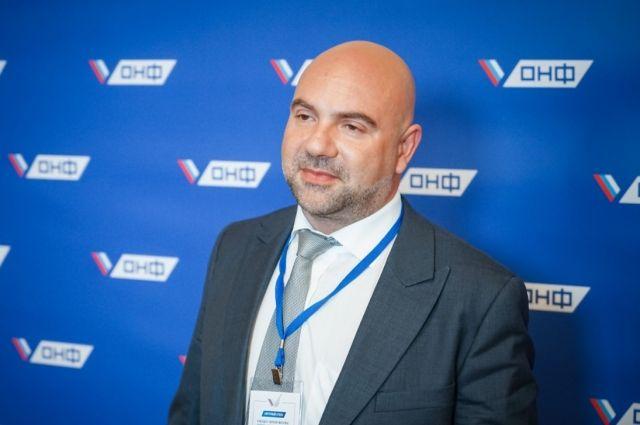 Тимофей Баженов зарегистрировался на предварительное голосование ЕР
