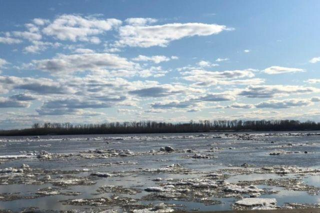 Уровень воды за сутки поднялся на 90 сантиметров