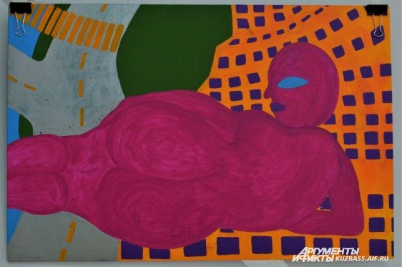 У каждого из художников свое видение мира. МАХА, например, изображает его исключительно в ярких красках.