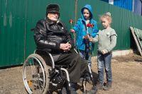 95-летнему ветерану уже очень сложно говорить.