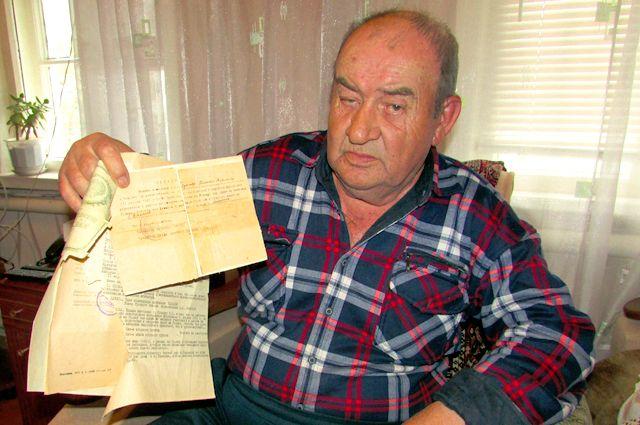 Сергей Крылов бережно хранит воспоминания отца.