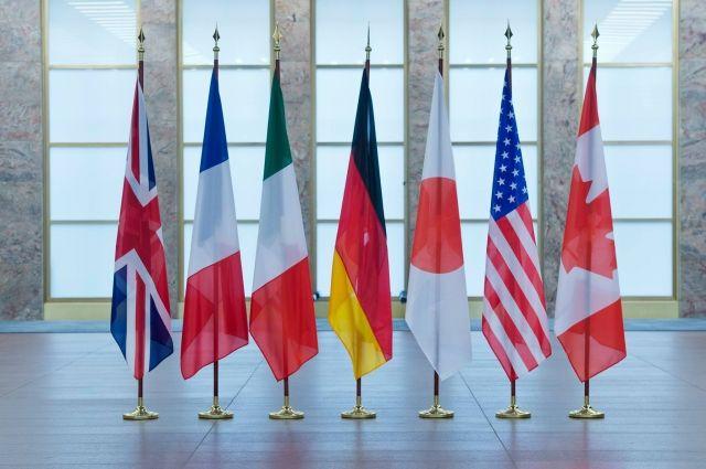 На саммите G7 одной из главных тем стала ситуация вокруг Украины