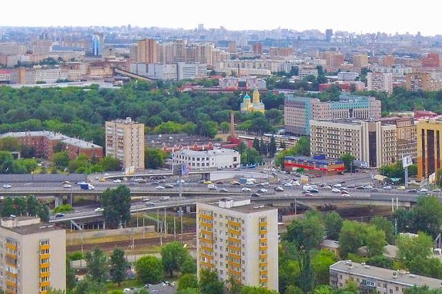 Нижегородский район Москвы.