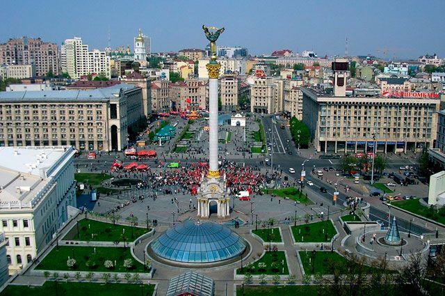 В центре Киева планируется ограничение движения из-за визита Блинкена