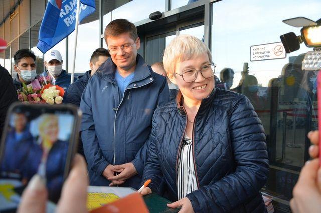 После победы в Польше Тамара Тансыккужина вернулась домой в Уфу.