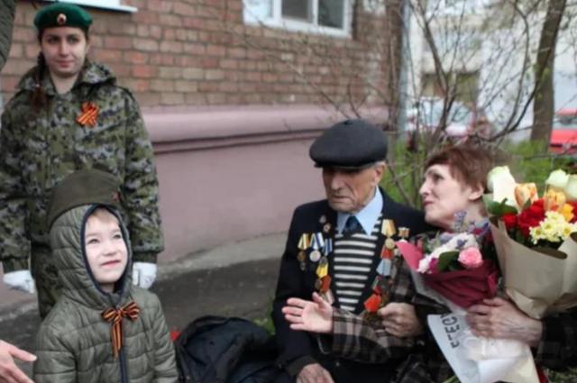 В Ярославле ветерану Великой Отечественной войны исполнилось 105 лет