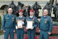 Кадеты пожарно-спасательного класса будут представлены к ведомственной награде.