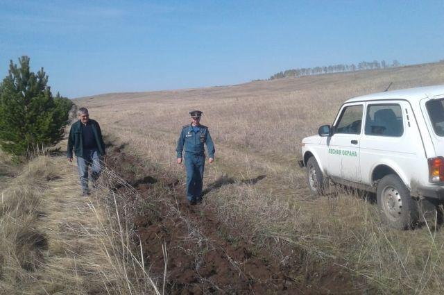 Прокуратура Оренбурга потребовала от чиновников провести противопожарную опашку земель.
