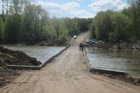 В Бузулукском районе открыли для движения мост через реку Сакмару в районе Колтубанки.