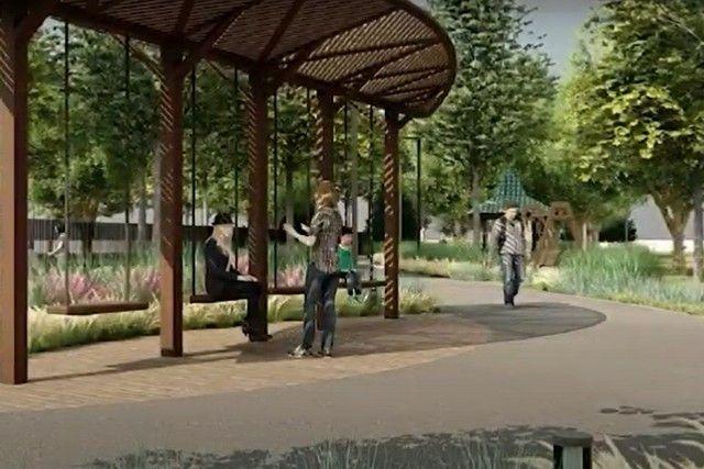 Пустырь за городским садом имени Пушкина к 1 августа превратиться в уютный скверик