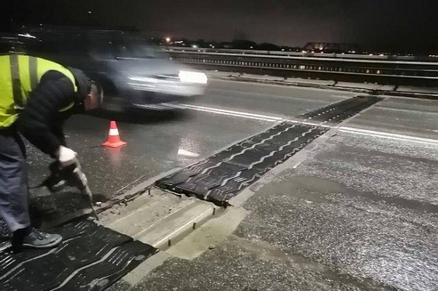 На Октябрьском мосту в Ярославле устранили вибрацию