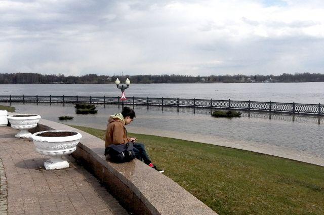 Стало известно, почему произошел разлив Волги в Ярославской области