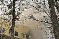 В Виннице произошел пожар в офисном центре: один человек погиб