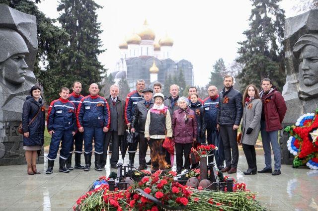 Энергетики приняли участие в автопробеге в честь 76-летия со Дня Победы