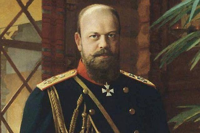Портрет Александра III, Николай Дмитриев-Оренбургский.