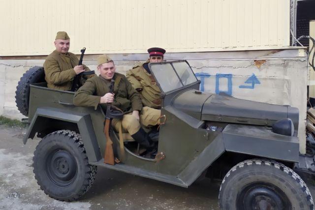 В Геленджике автомобиль отряда «СМЕРШ» представят на выставке