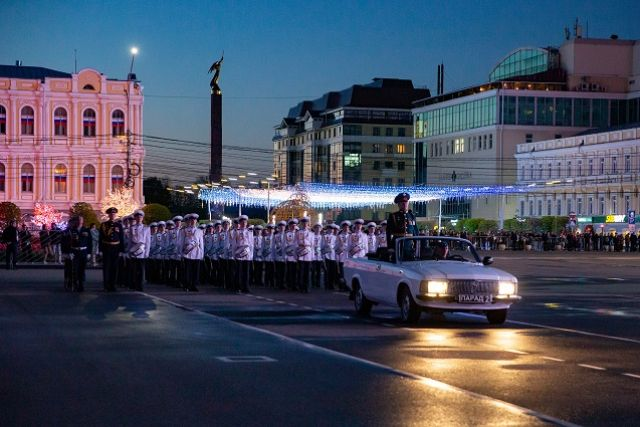 В Ставрополе проходит последняя репетиция парада с 80-ю боевыми машинами