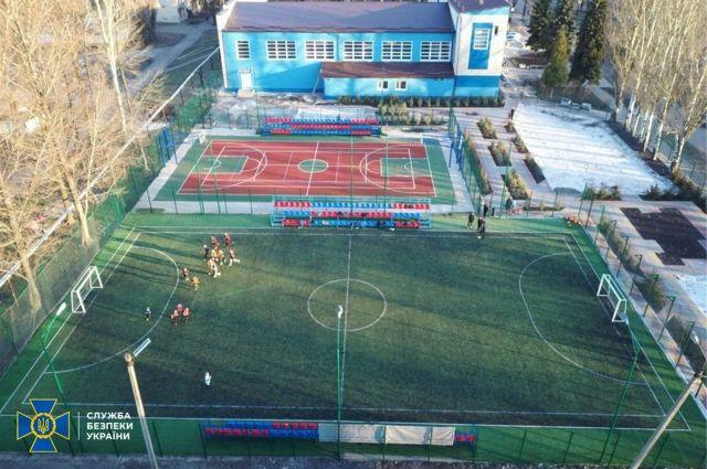 В Донецкой области присвоили 700 тыс. грн на строительстве спорткомплекса
