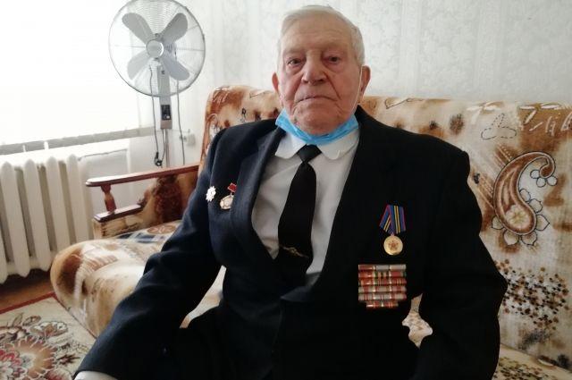 Павел Машканцев - ветеран Великой Отечественной войны, подполковник в отставке.