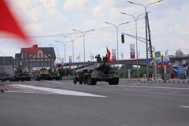 Парад Победы пройдет на Нижневолжской набережной