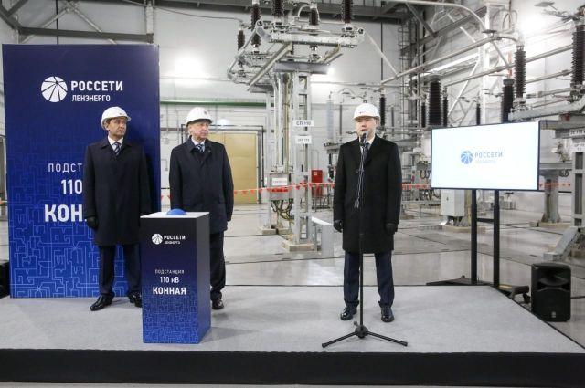 В Приморском районе города заработала новая современная подстанция «Россети Ленэнерго» 110 кВ «Конная».