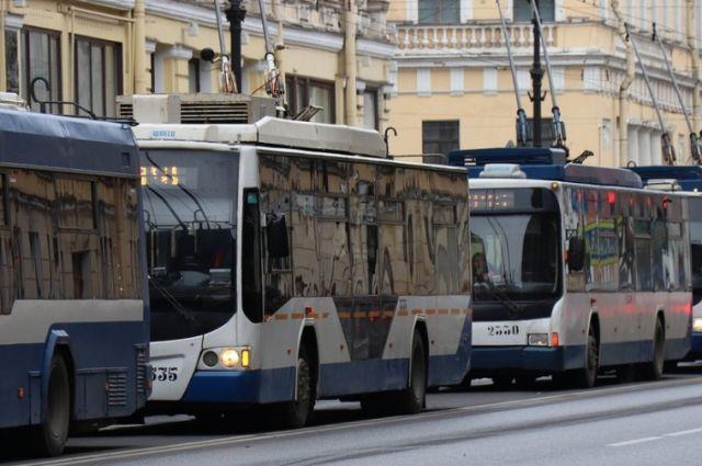 8-21 мая изменен график движения троллейбусов по Московскому шоссе Самары
