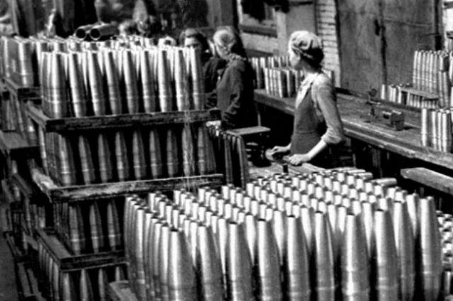Патронный завод в годы войны