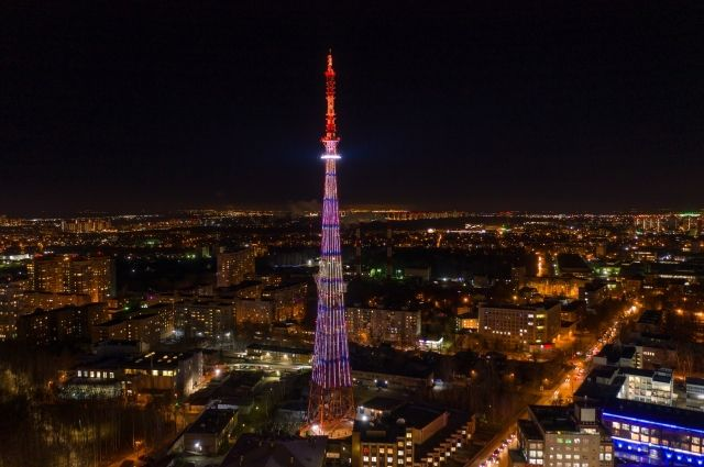 На телебашне в Нижнем Новгороде устроят световое шоу в День Победы