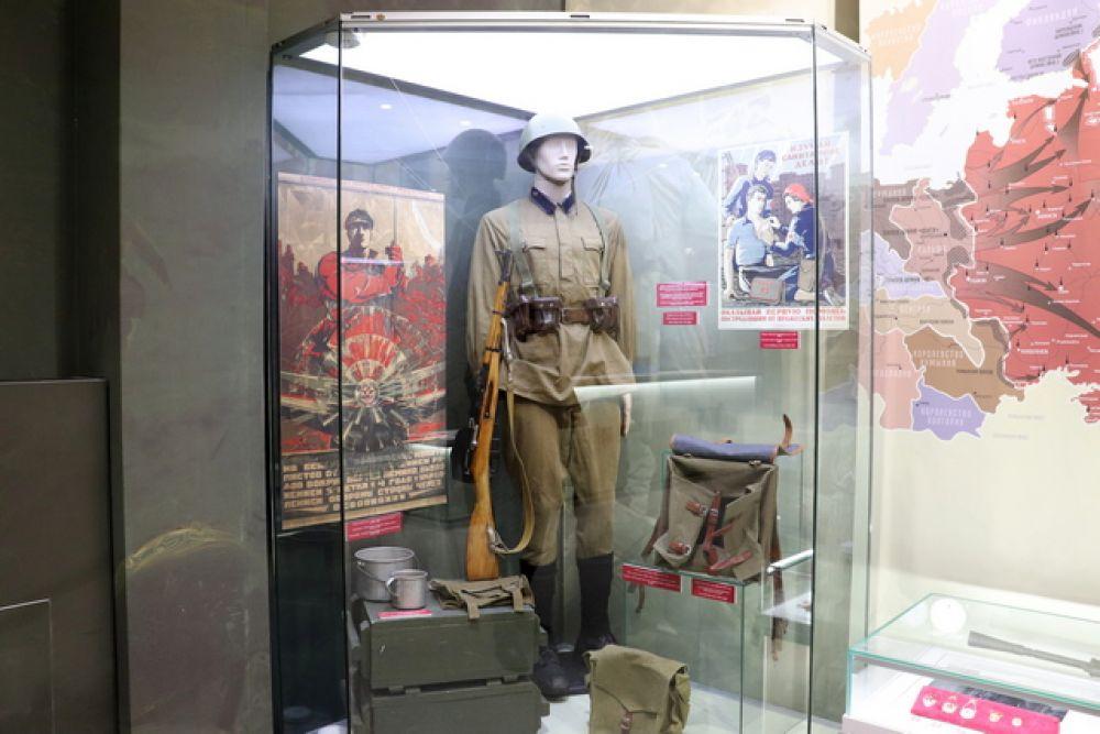 Форма и снаряжение красноармейца образца 1935-1937 годов. Карабин Мосина образца 1938 года